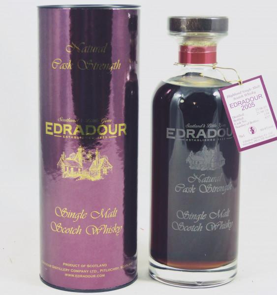 Edradour 2005 b. 2018 Dark Sherry Cask #139 Natural Cask Strength 60,6%