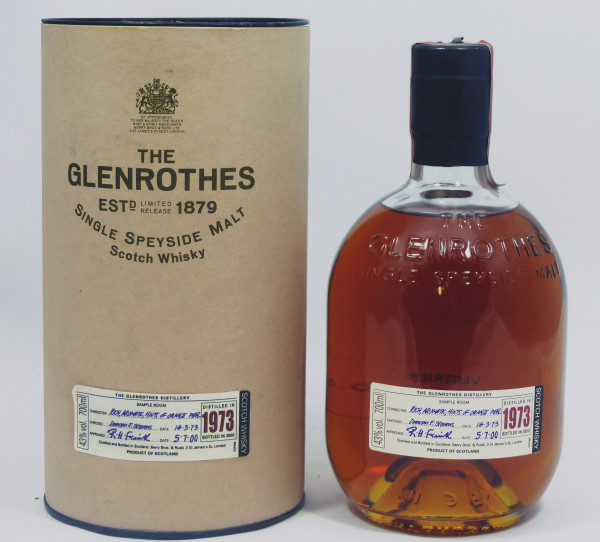 Glenrothes Vintage 1973 bottled in 2000