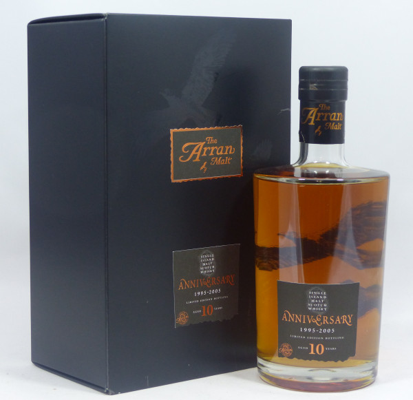 Arran 10 Jahre 1995 - 10th Anniversary - Limited Edition, Decanter