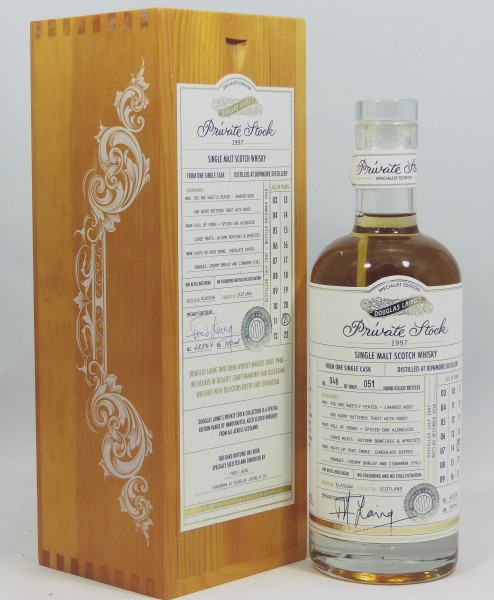 Bowmore 21 Jahre 1997 Douglas Laing Private Stock