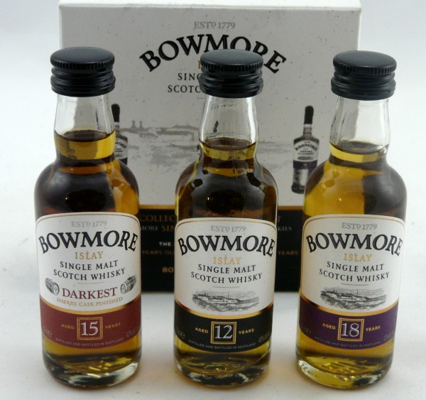 Bowmore Set 12 - 15 - 18 years 3 x 5cl