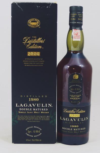 Lagavulin 1980 Distillers Edition White Horse Distillers