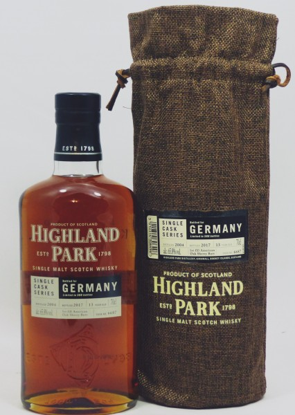 Highland Park 13 years 2004 Single Cask 6687 for Germany