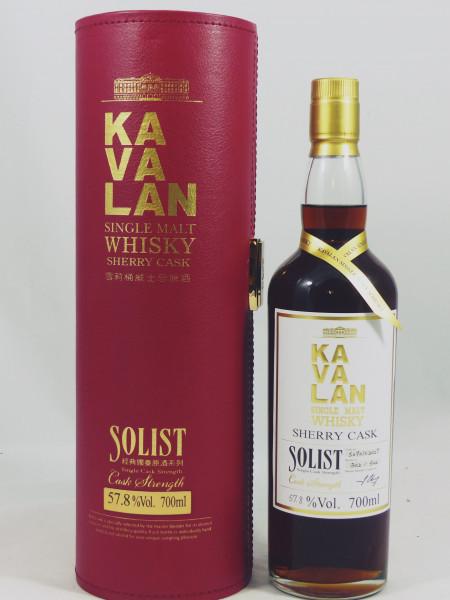 Kavalan Solist 2009 Sherry Single Cask S090102027 GP 57.8%