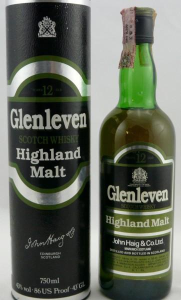 Glenleven Vatted Highland Malt 80er Jahre