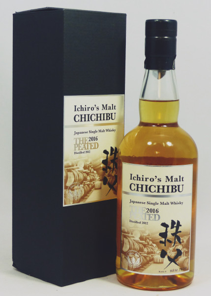 Chichibu Ichiro's Malt The Peated 2012 b. 2016 Cask Strength 54,5%