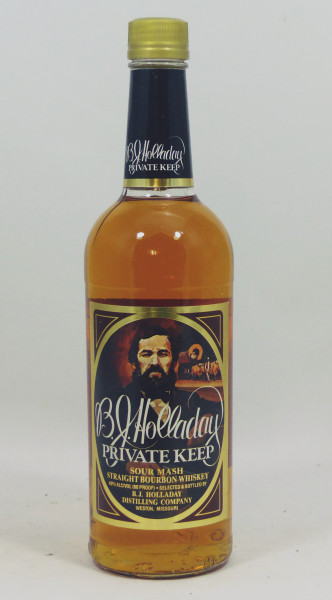 B.J. Holladay Private Keep - Sour Mash Straight Bourbon Whiskey