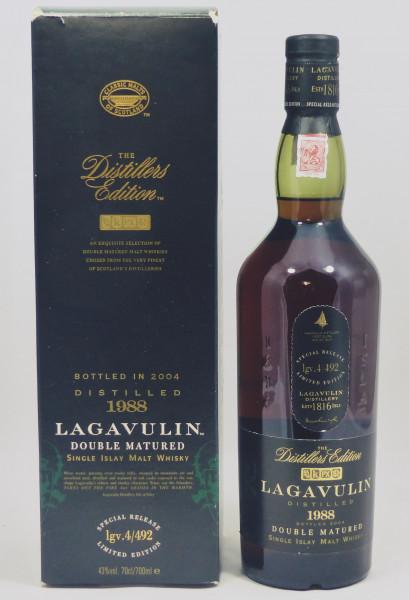 Lagavulin Distillers Edition 1988 Double Matured