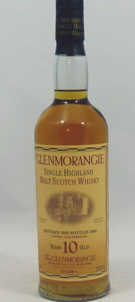 Glenmorangie 1992 b. 2002 Special Edition Kokubu Bottling 2 für Japan 57%