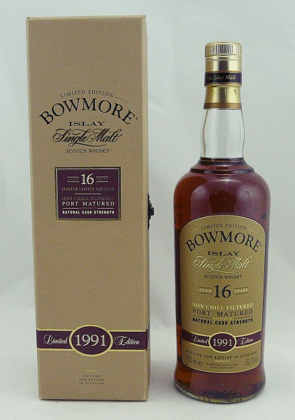 Bowmore 16 Years 1991 Port Matured
