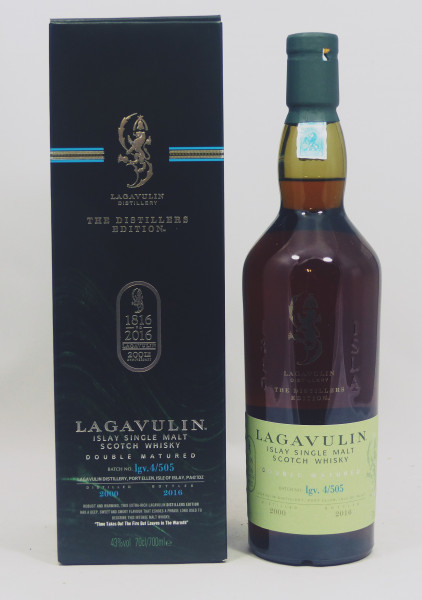 Lagavulin Distillers Edition 2000 b. 2016 Doubel Matured