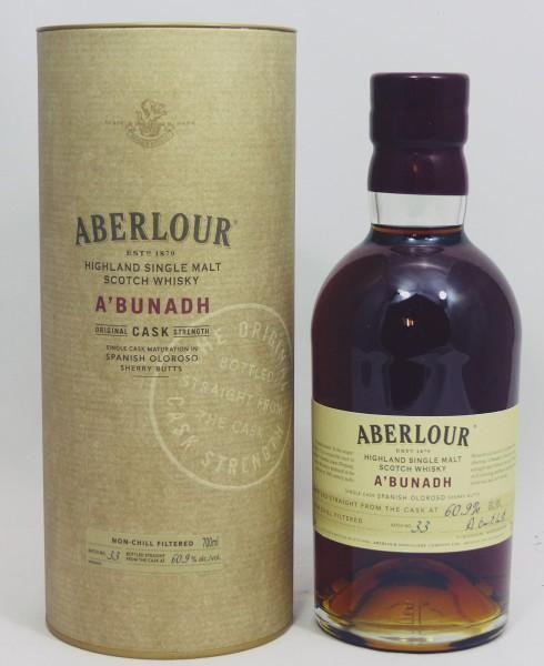 Aberlour a'bunadh Batch No. 33