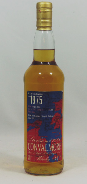 Convalmore 1975 30 Years Hogshead Cask No. 2572 for The House of Whisky Stralsund