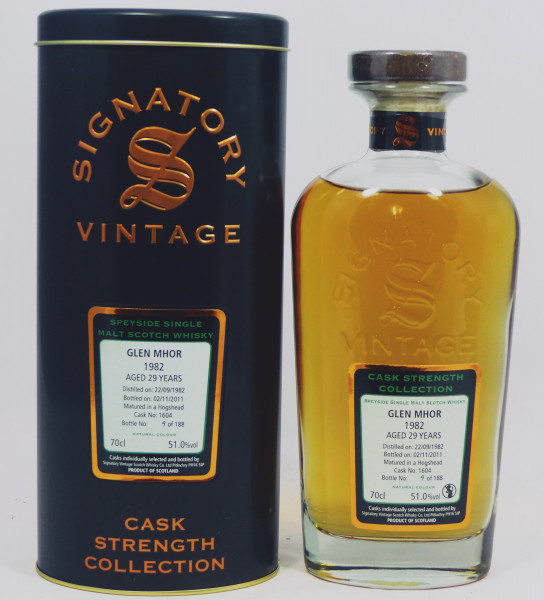 Glen Mhor 29 Jahre 1982 - Signatory Cask Strength Collection