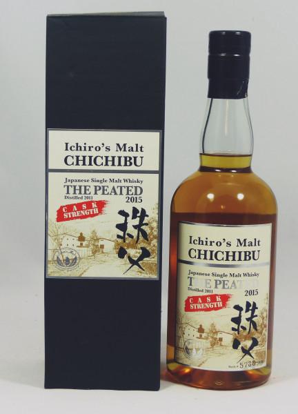Chichibu Ichiro's Malt The Peated 2011, b. 2015 Cask Strength 62,5%