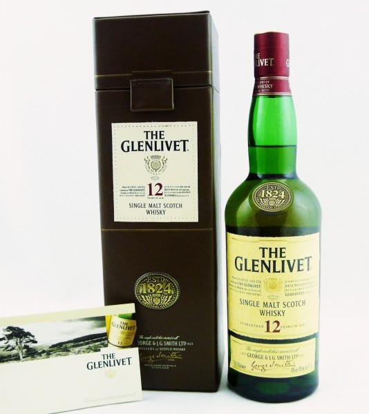 Glenlivet 12 Jahre GP Lederoptik