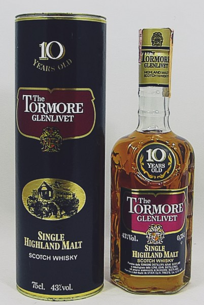 The Tormore Glenlivet 10 Years old Style
