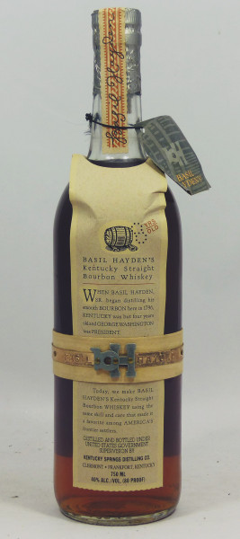 Basil Hayden's 8 years Kentucky Straigth Boubon Moon Import