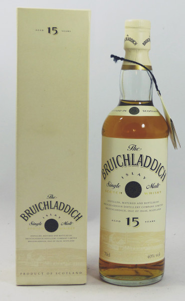 Bruichladdich 15 years - old Style - White Label