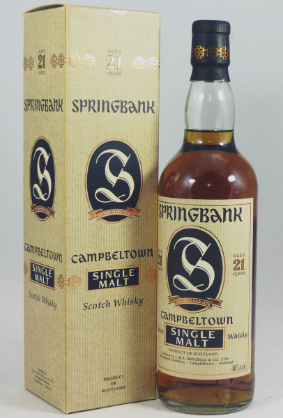 Springbank 21 Years Old Style b. 2001