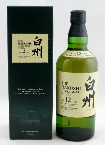 Suntory Hakushu 12 Jahre 0,7l