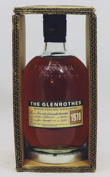 Glenrothes Vintage 1978 bottled in 2008