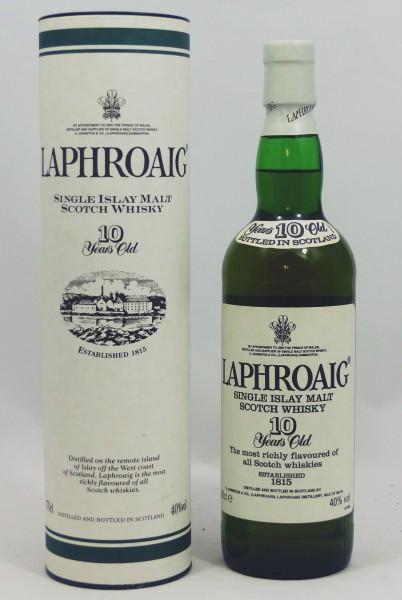 Laphroaig 10 Jahre alte Abfüllung Old Style Swiss Import