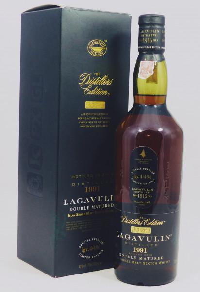 Lagavulin Distillers Edition 1991 b. 2008 Doubel Matured