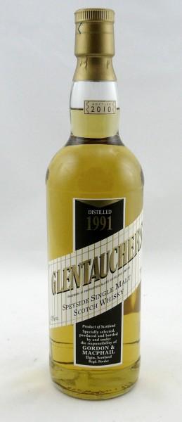 Glentauchers 1991 b. 2010 G&M licensed Bottling