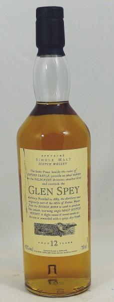 Glen Spey 12 Jare Flora und Fauna