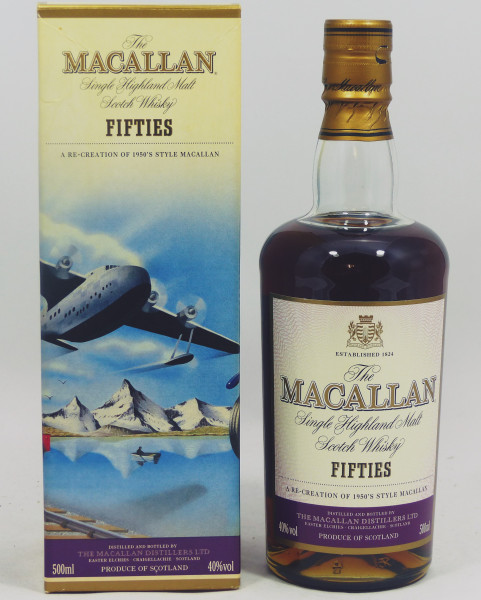 Macallan Travel Series 1950s Fifties