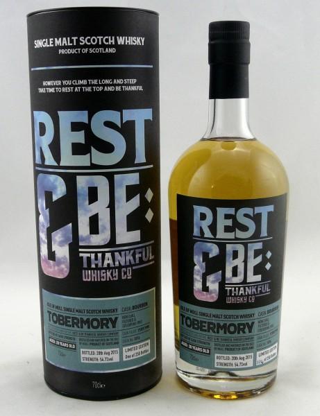 Tobermory 20 Years 1995 Rest & Be Thankfull Whisky Company