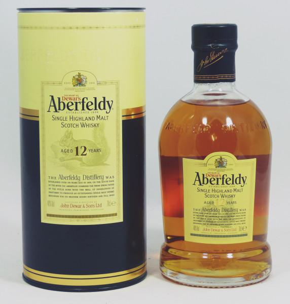 Aberfeldy 12 Jahre Abfüllung 2010