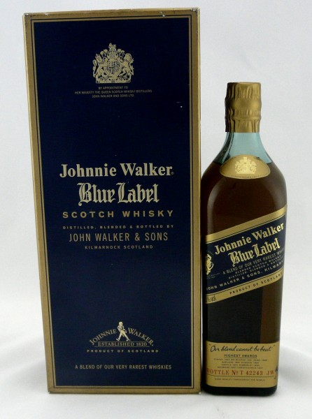 Johnnie Walker Blue Label old Style