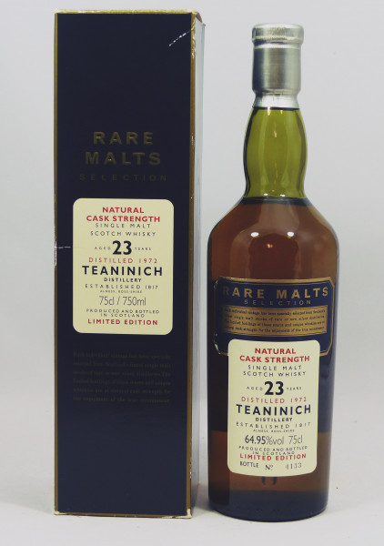 Teaninich 23 Years 1972 Rare Malts Selection