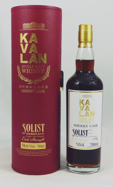 Kavalan Solist 2008 Sherry Single Cask S081217043 GP 57.8%