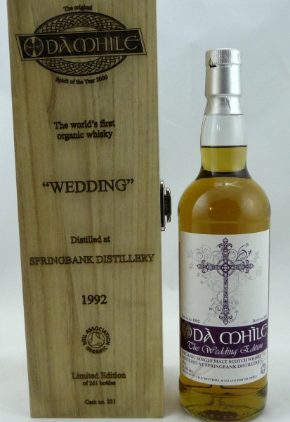 Springbank 1992 Organic - Dà Mhile The Wedding Edition