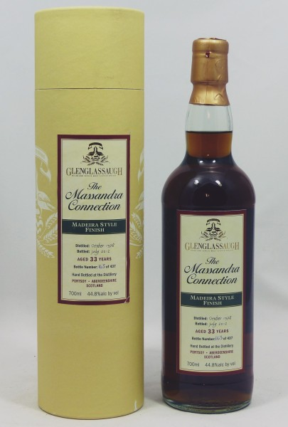 Glenglassaugh 33 years 1978 The Massandra Connection - Madeira Style Finish