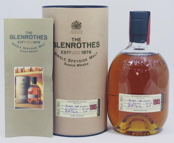 Glenrothes Vintage 1985 bottled in 1998