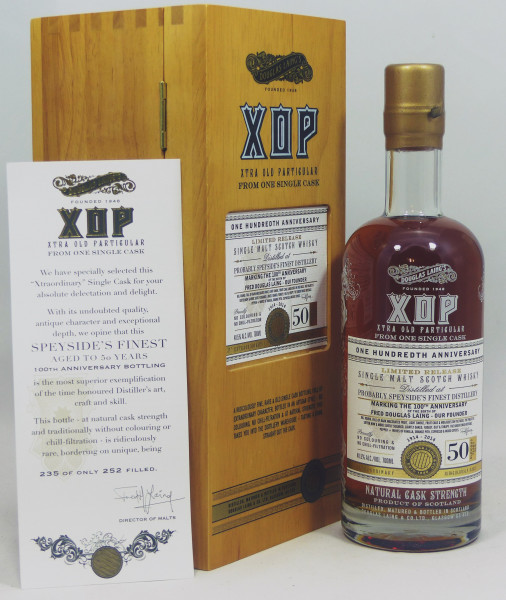 Probably Speyside's Finest 1964 50 Year Old, Douglas Laing XOP 2014