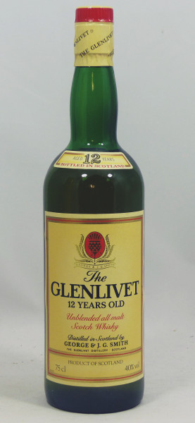 Glenlivet 12 Jahre Unblended All Malt Scotch Whisky