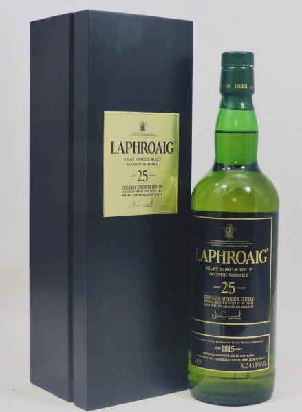 Laphroaig 25 Jahre limited Edition 2015 Cask strength