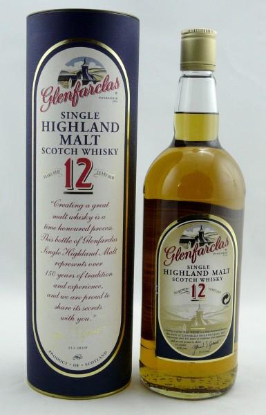 Glenfarclas 12 Jahre old Style 1 Liter