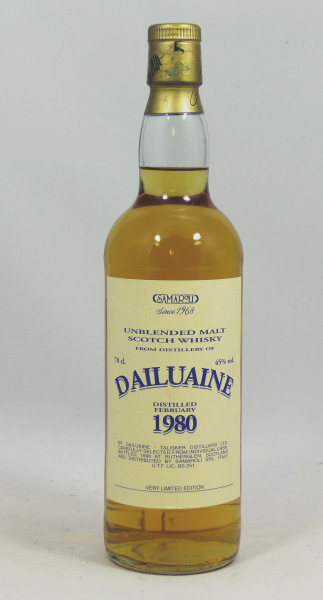 Dailuaine 1980 Samaroli Very limited Edition - Single Cask 1527