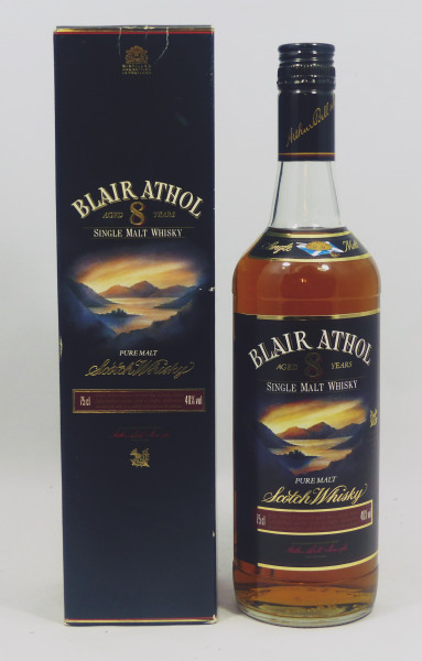 Blair Athol 8 Jahre Pure Malt Scotch Whisky - old Style 75cl
