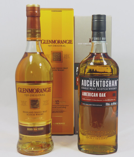 Single Malt Whisky - Anfänger Set (3) - Auchentoshan Glenmorangie 2x70cl