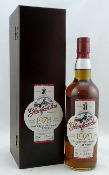 Glenfarclas 38 years 1978 Sherry Premium Casks