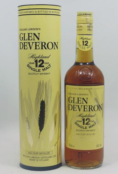Glen Deveron W. Lawsons 12 Jahre alt 80ies