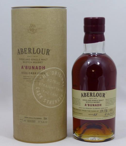 Aberlour a'bunadh Batch No. 48