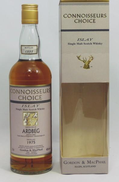 Ardbeg 1975 b. 1998 Gordon & MacPhail Connoisseurs Choice